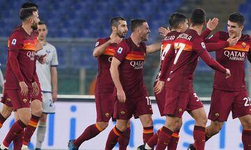 Serie A: Η Ρόμα με τρία γκολ σε εννιά λεπτά ανέβηκε στην 3η θέση (highlights)!