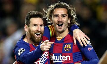 La Liga: Με Σουάρες η Ατλέτικο, με Μέσι - Γκριεζμάν η Μπαρτσελόνα (highlights)