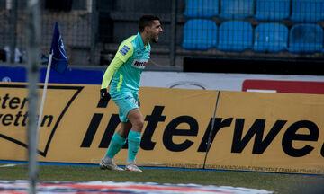 ΠΑΣ Γιάννινα - Ατρόμητος: Το γκολ του Αγκάγιεφ για το 0-1 (vid)