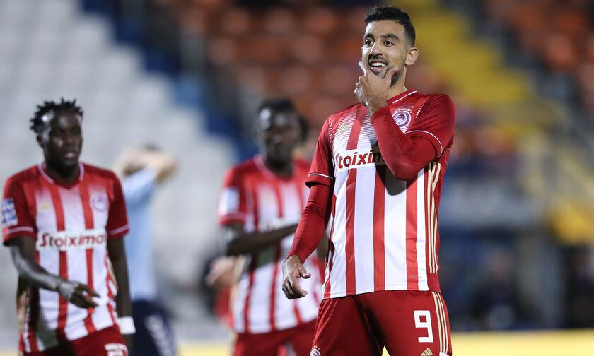 Απόλλων Σμύρνης - Ολυμπιακός: Το γκολ του Χασάν για το 0-1 (vid)