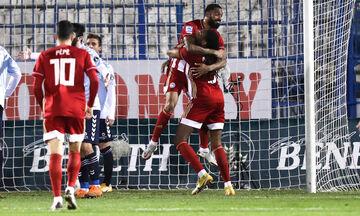 Απόλλων Σμύρνης - Ολυμπιακός: Το γκολ του Εμβιλά για το 0-2 (vid)
