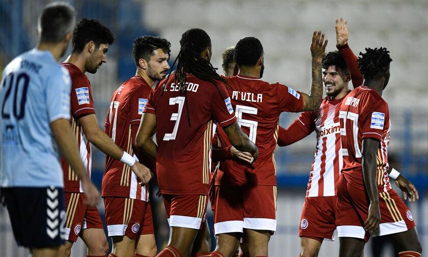 Απόλλων Σμύρνης – Ολυμπιακός 1-3: Πέρασε στο «ρελαντί» από την Ριζούπολη!