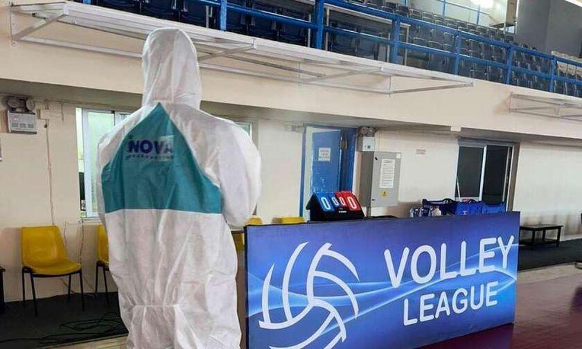 Volley League Ανδρών: Και πέμπτο κρούσμα κορονοϊού στην Κηφισιά