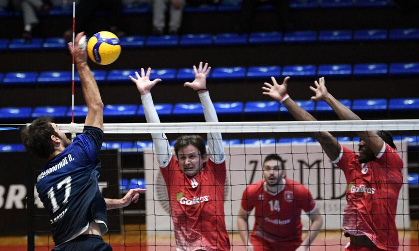 Volley League Ανδρών: Το πρόγραμμα της 8ης και 9ης αγωνιστικής