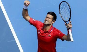 ATP Cup: Ανατροπή με σούπερ Τζόκοβιτς