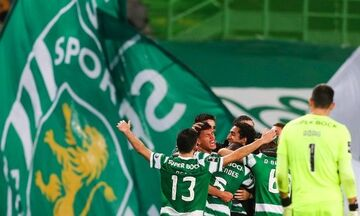 Στις καθυστερήσεις η Σπόρτινγκ 1-0 την Μπενφίκα (highlights)