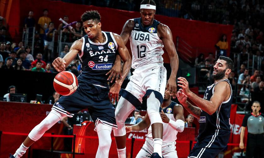 Ολυμπιακοί Αγώνες: Σε όμιλο με ΗΠΑ, Γαλλία και Ιράν η Εθνική