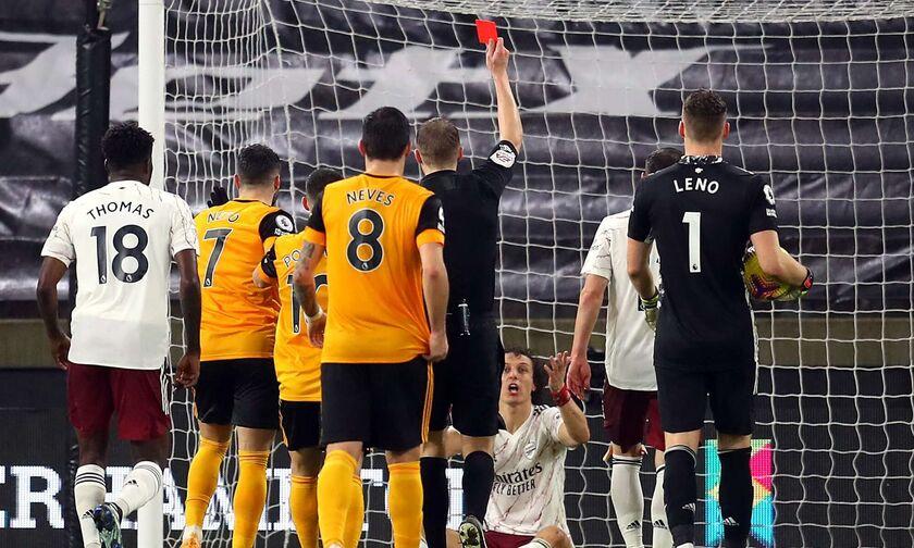 Γουλβς – Άρσεναλ: Το πέναλτι-αποβολή του Λουίζ και το γκολ του Νέβες για το 1-1 (vid)