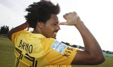 Μπρούνο: «Θέλω να κατακτήσω το Κύπελλο με τον Άρη» (vid)