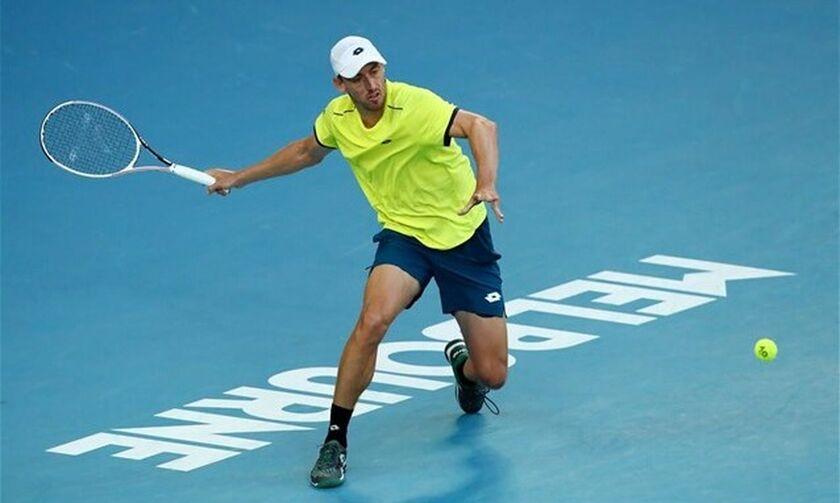 ATP Cup: Ήττα για τον Περβολαράκη