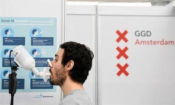Ολλανδία: Νέα γρήγορα τεστ αναπνοής για την ανίχνευση κορονοϊού