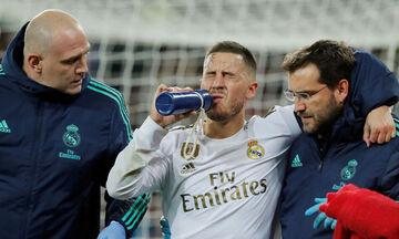 Αζάρ: Για 10η φορά σε 1,5 χρόνο τραυματίας ο άσος της Ρεάλ Μαδρίτης!