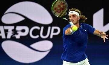ATP Cup: Τα ξημερώματα της Παρασκευής το Ελλάδα - Ισπανία
