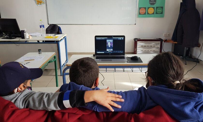 «Ζήσε Αθλητικά»: «Επίσκεψη» στο Δημοτικό Σχολείο Αγαθονησίου με την Ολυμπιονίκη Κατερίνα Νικολαΐδου