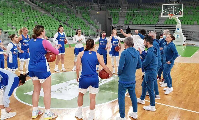 Live Streaming: Ισλανδία - Ελλάδα (20.15, προκριματικά Ευρωμπάσκετ γυναικών)
