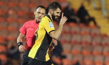 Aπόλλων - ΑΕΚ: Το γκολ του Ντάουντα και η «απάντηση» του Ολιβέιρα για το 1-1 (vid)