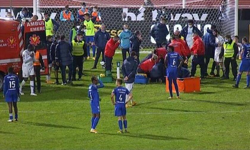 Μπελενένσες-Πόρτο: Ο Πέπε έβαλε τα κλάματα βλέποντας τον σοβαρό τραυματισμό του Νανού (vid)