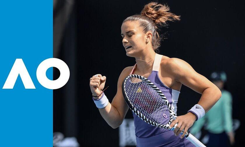 Australian Open: Με Μλαντένοβιτς η Σάκκαρη