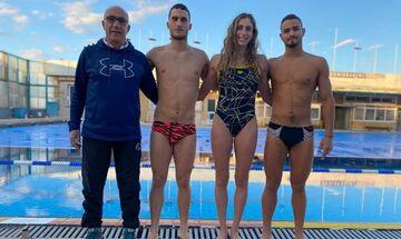 Κολύμβηση: Καλές επιδόσεις και τέσσερα μετάλλια στη Γαλλία