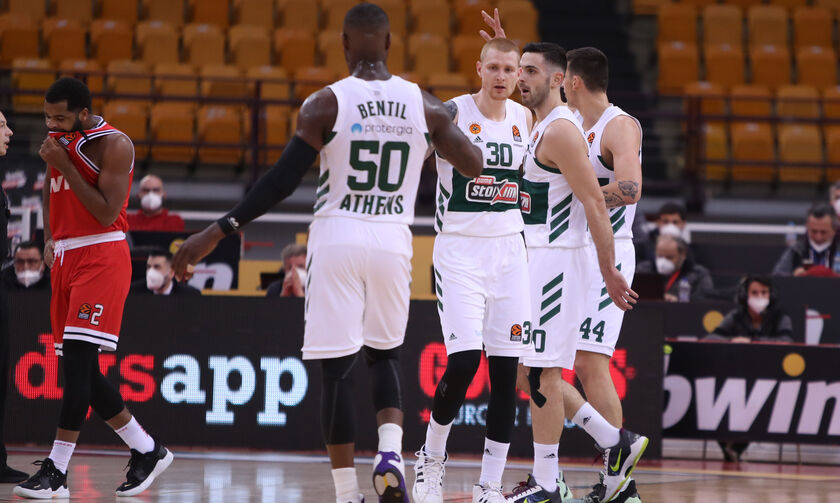Ολυμπιακός - Παναθηναϊκός: Το 13-0 σερί των «πράσινων» (vid)