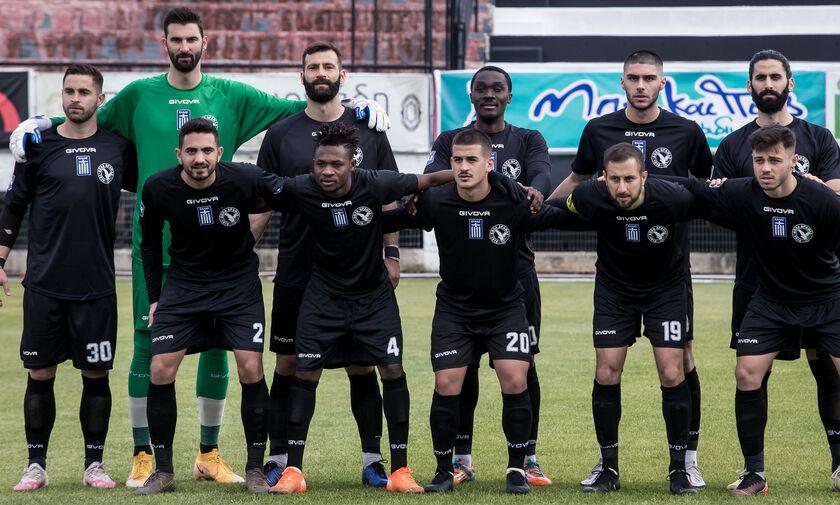 ΟΦΙ - Δόξα Δράμας: Το γκολ του Μαυριά για το 0-1 (vid)