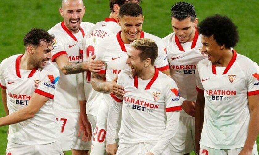 La Liga: Λυτρωτής Βαράν για Ρεάλ Μαδρίτης στην Ουέσκα, ξανά τρίτη η Σεβίλλη (highlights)