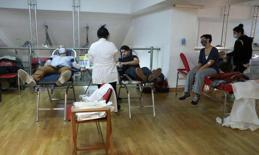 Ολυμπιακός: Τυφλός αιμοδότης έδωσε το παράδειγμα (pic)
