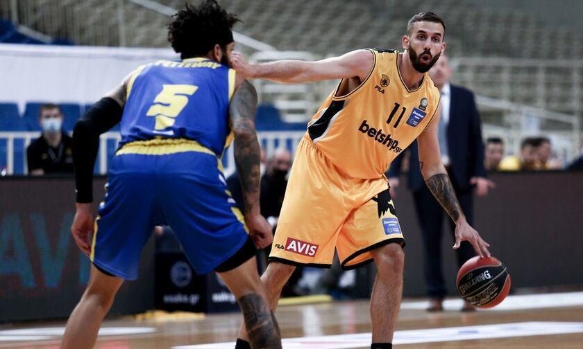 Το πανόραμα της Basket League: Η ΑΕΚ διέλυσε το Περιστέρι (highlights, βαθμολογία)