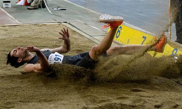 Σταθερός σε καλά άλματα ο Τεντόγλου - Πήδηξε 8,02 μέτρα στο Μετς