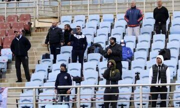 Και στην Πάτρα για το ματς με την Παναχαϊκή οι οπαδοί του Ιωνικού!