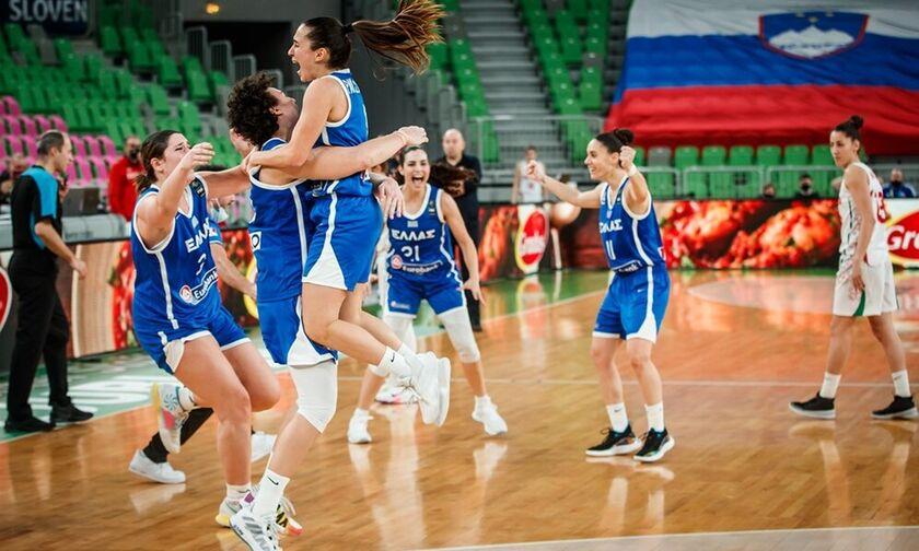Εθνική γυναικών: Συγχαρητήρια για την πρόκριση στο Eurobasket από ΕΟΚ, Φασούλα, Λιόλιο, Παπανικολάου