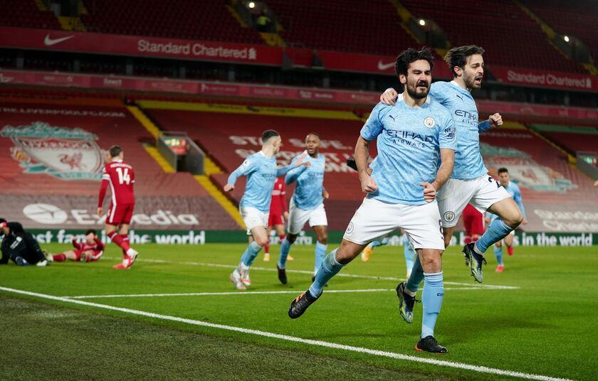 Λίβερπουλ - Μάντσεστερ Σίτι: Το γκολ του Γκουντογκάν για το 0-1 (vid)
