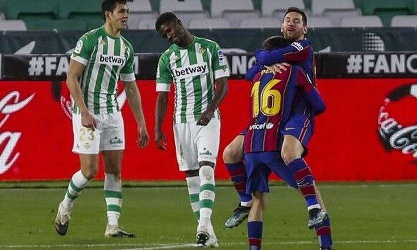 La Liga: Απόδραση (2-3) της Μπαρτσελόνα από την έδρα της Μπέτις (highlights, βαθμολογία)