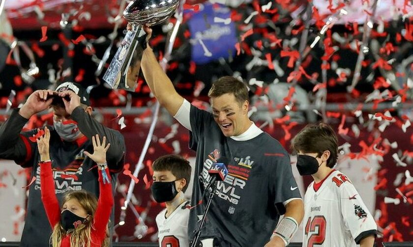 Super Bowl: Buccaneers - Chiefs 31-9:  Έβδομος τίτλος για τον Tom Brady!
