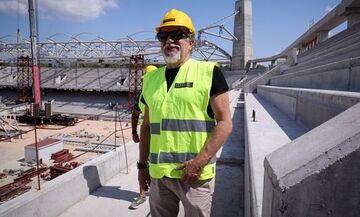 Βούρος: «Η ΑΕΚ θα παίξει τον δεύτερο γύρο της σεζόν 2021/22 στην OPAP Arena»