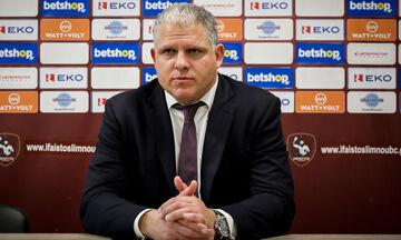 Επίσημο: Προπονητής στο Περιστέρι ο Μανωλόπουλος