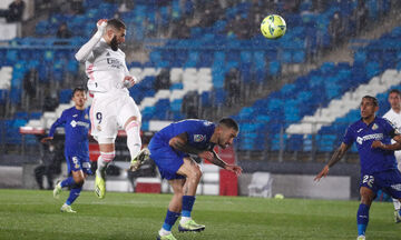 La Liga: Νίκη της Ρεάλ επί της Χετάφε σε εξ αναβολής ματς (Highlights)