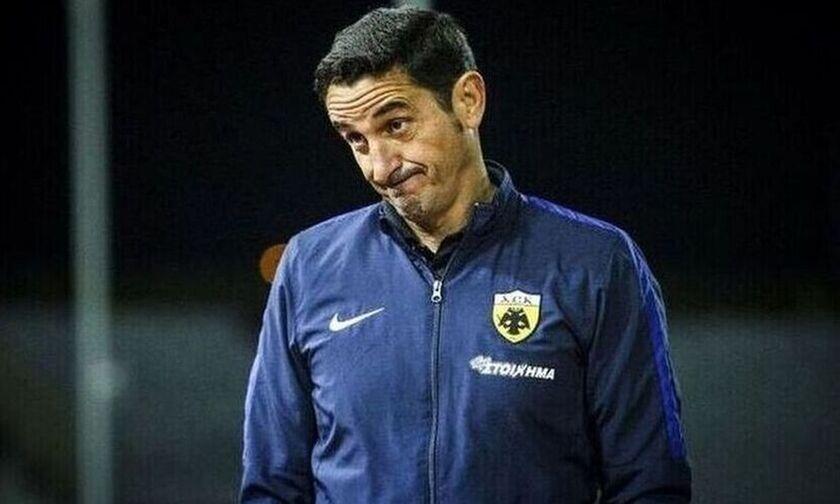 Μανόλο Χιμένεθ: «Η ΑΕΚ έχει πολύ καλούς ποδοσφαιριστές»