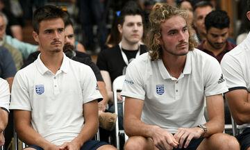 Australian Open: Ήττα για τα αδέλφια Τσιτσιπά στο διπλό