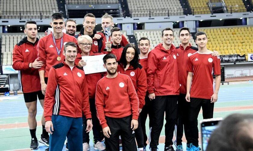 Ολυμπιακός: Οι συμμετοχές στο πανελλήνιο πρωτάθλημα κλειστού Στίβου
