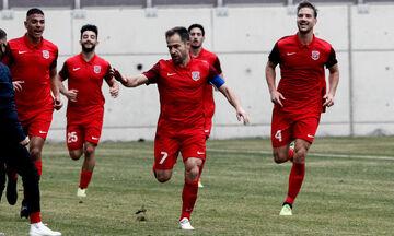 Διαγόρας - Χανιά: Το γκολ του Μπαστακού για το 1-0 (vid)