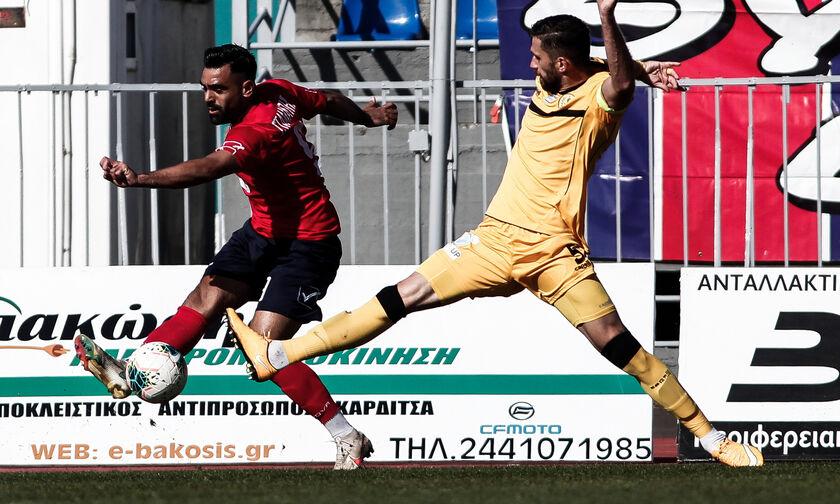 Super League 2: Ισοπαλίες σε Ρόδο και Τρίκαλα (highlights)