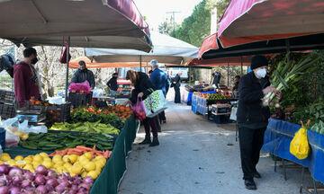 Lockdown: Ανοιχτά ανθοπωλεία και λαϊκές αγορές το Σαββατοκύριακο 13-14 Φεβρουαρίου