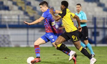 ΑΕΚ - Βόλος: Το γκολ του Δουβίκα για το 0-1 (vid)