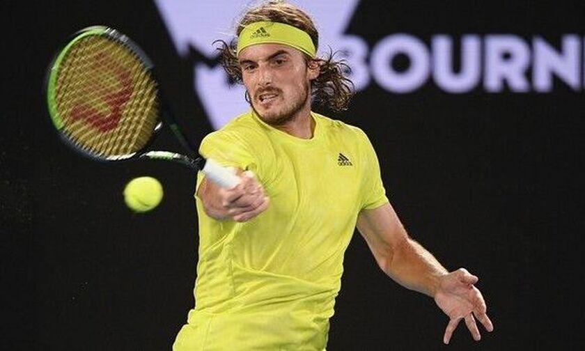 Australian Open: Πρόκριση θρίλερ του Τσιτσιπά, 3-2 τον Κοκκινάκη μετά από 4,5 ώρες!