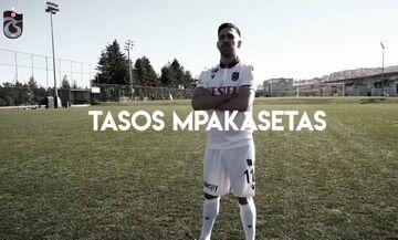 Μπακασέτας: «Ήμουν κοντά σε άλλη ομάδα πριν υπογράψω στην Τραμπζονσπόρ»