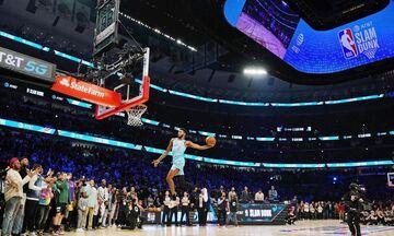 All Star Game NBA: Στο ημίχρονο ο διαγωνισμός καρφωμάτων (pic)