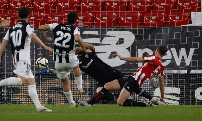 Copa del Rey: Πάνω «Χ»έρι η Λεβάντε μετά τον πρώτο ημιτελικό του Κυπέλλου στο Μπιλμπάο (1-1)!