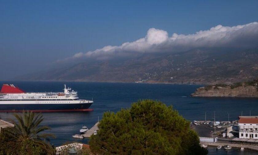 Ικαρία: Πρόσκρουση πλοίου στο λιμάνι του Αγίου Κηρύκου