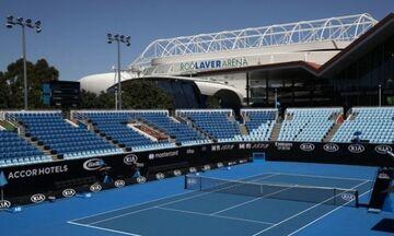 Australian Open: Συνεχίζεται χωρίς θεατές
